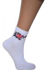Шкарпетки вишиті жіночі М-14
