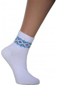Шкарпетки вишиті жіночі М-16