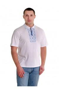 Вишита футболка хрестиком «Поло» М-612-4
