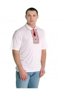 Вишита футболка хрестиком «Поло» М-612-5