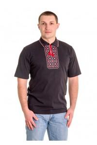 Вишита футболка хрестиком «Поло» М-612