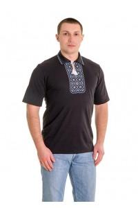 Вишита футболка хрестиком «Поло» М-612-2