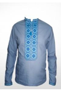 Сорочка вишита чоловіча 100% Льон М-406