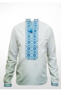Сорочка вишита чоловіча 100% Льон М-406-2