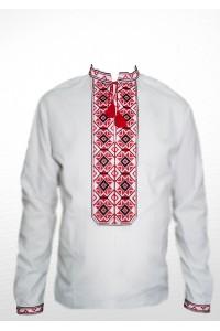 Сорочка вишита чоловіча 100% Льон М-406-1