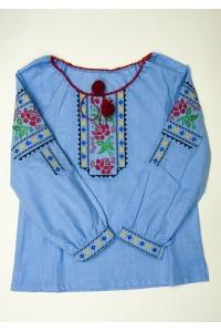 Сорочка вишита на дівчинку М-506-1