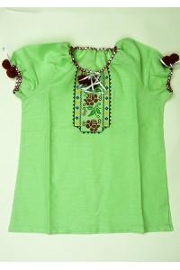 Сорочка вишита на дівчинку М-506-5
