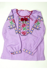 Сорочка вишита на дівчинку М-506-2