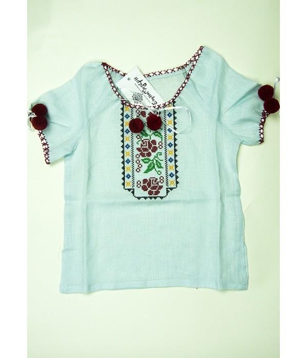 Сорочка вишита на дівчинку М-506-8