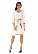 Плаття вишите жіноче М-1017
