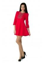 Плаття вишите жіноче М-1040