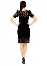 Плаття вишите жіноче М-1043