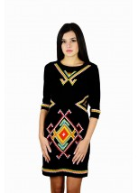 Плаття вишите жіноче М-1055-1