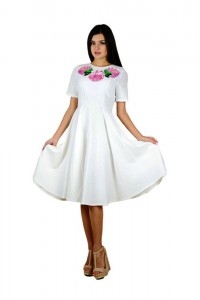 Плаття вишите жіноче М-1056-5