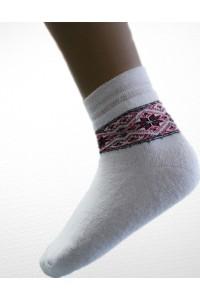 Шкарпетки зимові вишиті жіночі М-800-1
