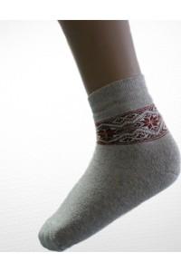 Шкарпетки зимові вишиті жіночі М-800-2