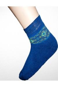 Шкарпетки зимові вишиті жіночі М-800-3