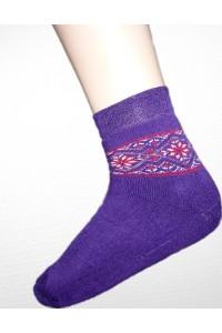 Шкарпетки зимові вишиті жіночі М-800-4