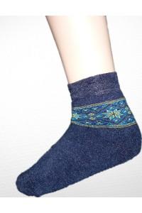 Шкарпетки зимові вишиті жіночі М-800-6
