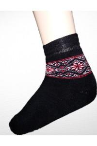 Шкарпетки зимові вишиті жіночі М-800-7