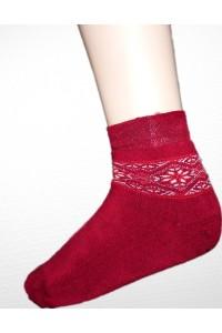 Шкарпетки зимові вишиті жіночі М-800-8