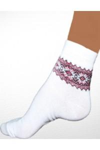 Шкарпетки вишиті жіночі М-816-3