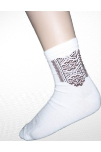 Шкарпетки вишиті чоловічі М-850-5
