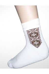 Шкарпетки зимові вишиті чоловічі М-870-1