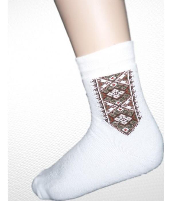 Шкарпетки зимові вишиті чоловічі М-870-1, Шкарпетки зимові вишиті чоловічі М-870-1 купити