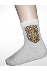 Шкарпетки зимові вишиті чоловічі М-870-2