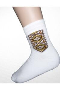 Шкарпетки зимові вишиті чоловічі М-870