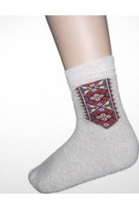 Шкарпетки зимові вишиті чоловічі М-870-3