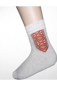 Шкарпетки зимові вишиті чоловічі М-870-4