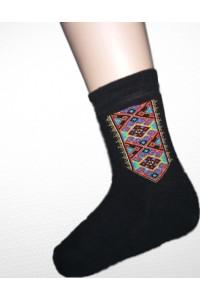 Шкарпетки зимові вишиті чоловічі М-870-5