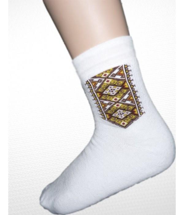 Шкарпетки зимові вишиті чоловічі М-870, Шкарпетки зимові вишиті чоловічі М-870 купити