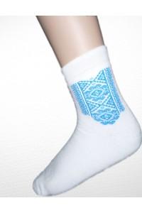 Шкарпетки зимові вишиті чоловічі М-890-1