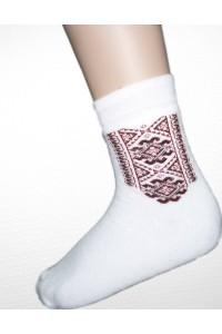 Шкарпетки зимові вишиті чоловічі М-890
