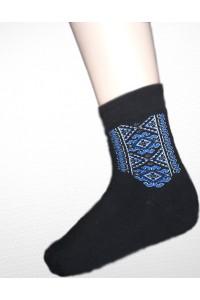 Шкарпетки зимові вишиті чоловічі М-890-5