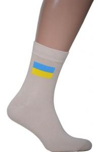 Шкарпетки вишиті чоловічі з прапором
