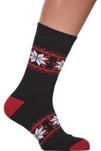 Шкарпетки зимові вишиті чоловічі М-890-6