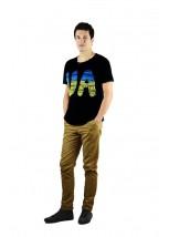 """Чоловіча патріотична футболка """"UA синьо-жовта"""" М-902"""
