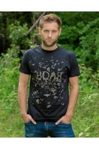 """Чоловіча патріотична футболка """"Воля"""" М-905"""