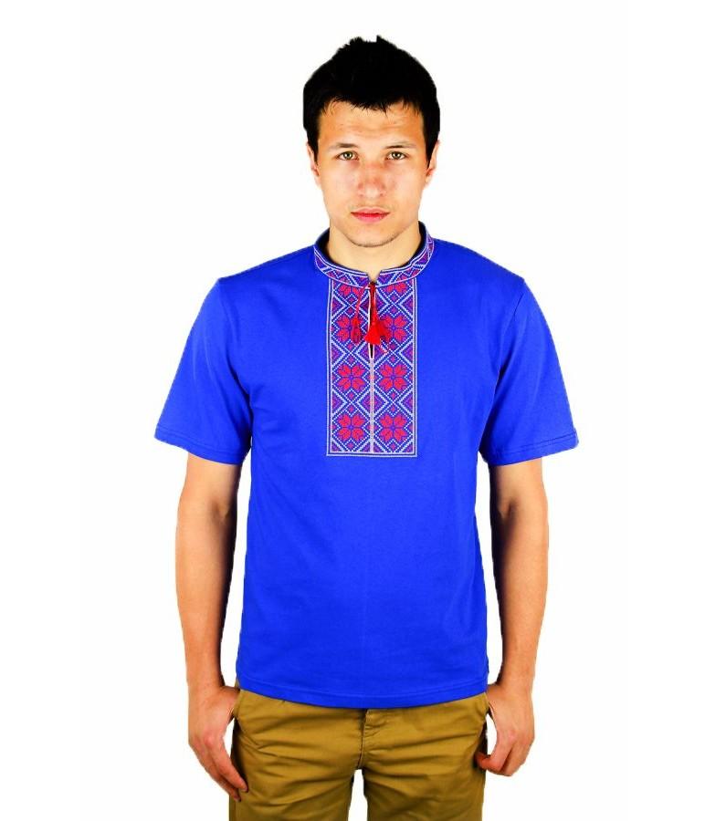 Вишита футболка хрестиком «Народна» М-615-4 купити у Львові 8890640db5d20
