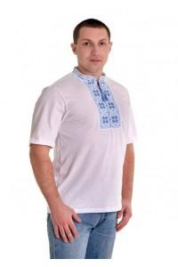 Вишита футболка хрестиком «Народна» М-615