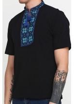 Вышитая футболка «Народная» М-615-13