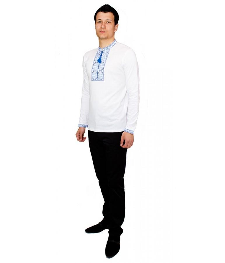 Вишита футболка хрестиком «Народна» М-615-7 купити у Львові 4571bfe391a1b