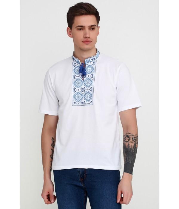 Вышитая футболка М-618-3, Вышитая футболка М-618-3 купити