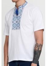 Вышитая футболка М-618-3