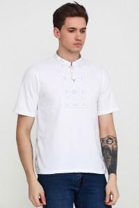 Вышитая футболка М-618-4