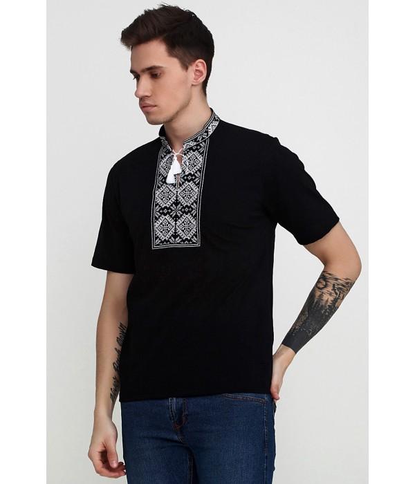Вышитая футболка М-618-6, Вышитая футболка М-618-6 купити